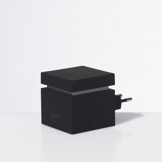 ipuro Air Pearls Electric Plug In Cube, black