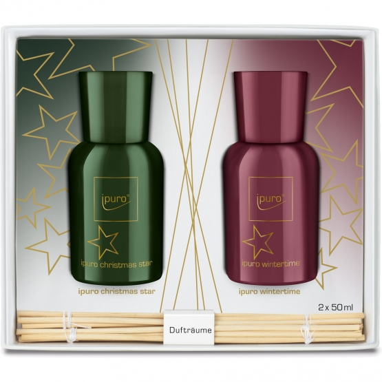 ipuro Season Line Geschenkset, wintertime & christmas star, 2 x 50ml