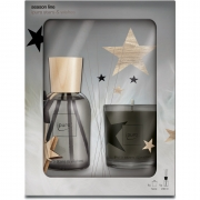ipuro Season Line Set, stars & wishes, Kerze 60g, Raumduft 240ml